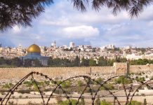 Jerusalem Israel Palestine Dome of The Rock Golden Dome