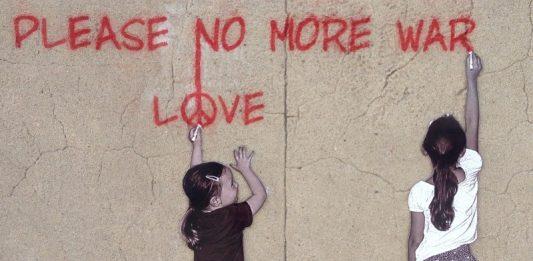 Peace, Graffiti, Street Art, Art, Children, War
