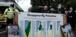 Disappearing Palestine