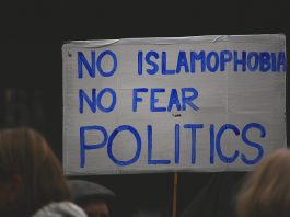 No Islamophobia - No Fear Politics