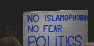 No Islamophobia - No Fear Politics