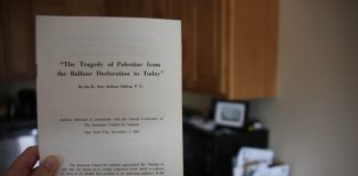The Tragedy of Palestine from the Balfour Declaration to Today - by Anthony Nutting