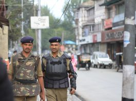 Kashmir Security Patrol