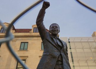 Nelson Mandela Statue - South African Embassy
