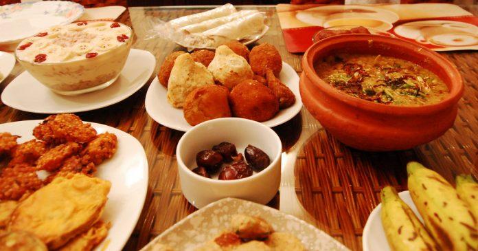 Iftar at Home