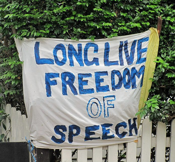 Long Live Freedom of Speech